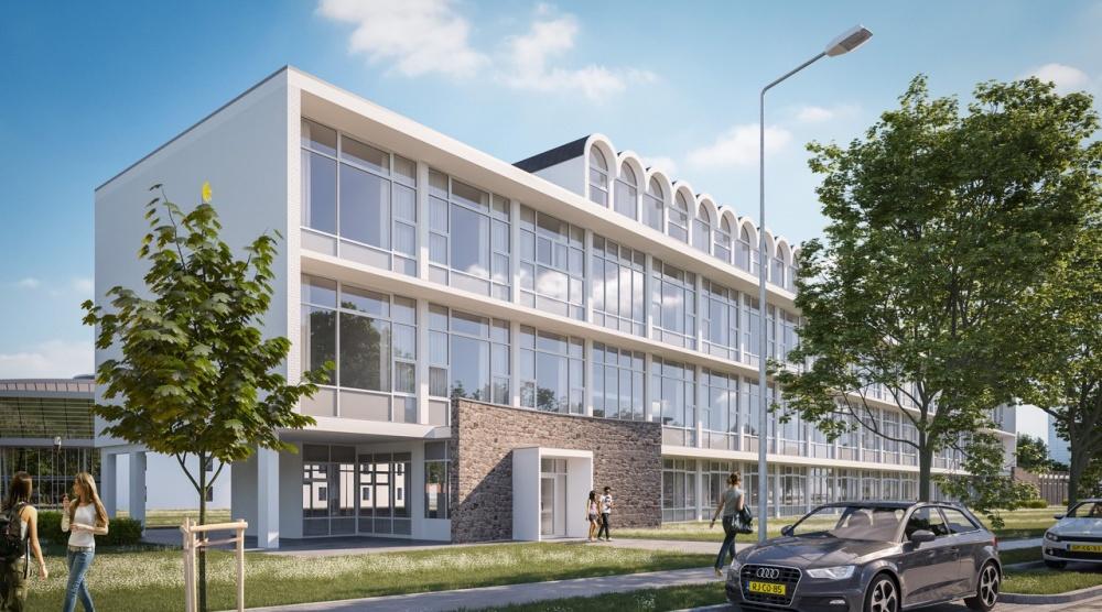 Een transformatie van het karakteristieke Zuidgebouw Leeuwenborgh naar 52 woonstudio's voor studenten.